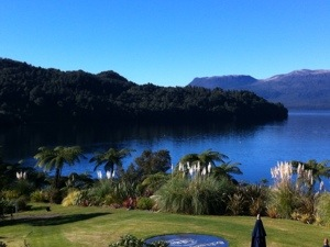 View of Lake Terawara from Solitaire Lodge