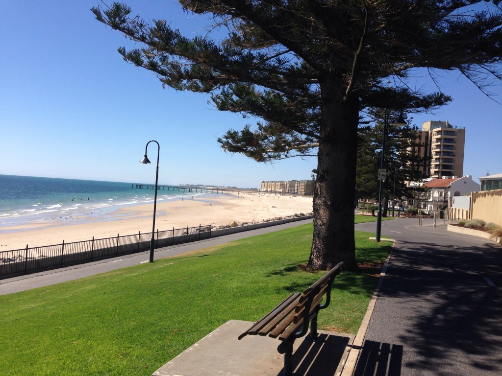 Glenelg beach - what a day!