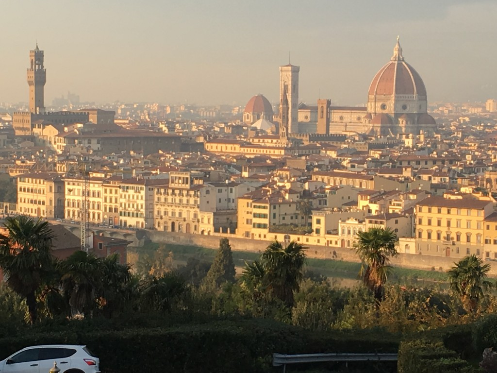 Florence from Pzzale Michaelangelo