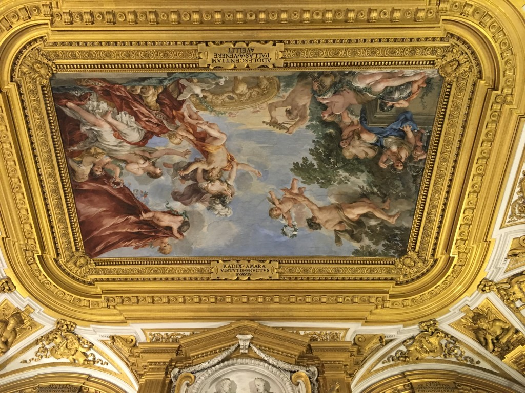 Ornate Ceiling -Pitti Palace