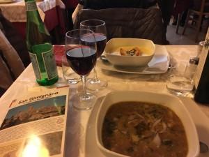 Soup Osteria Del Carcere, San Gimingano
