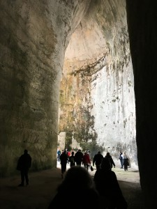 Inside the Ear of Dionysius - Its bigger on the inside""