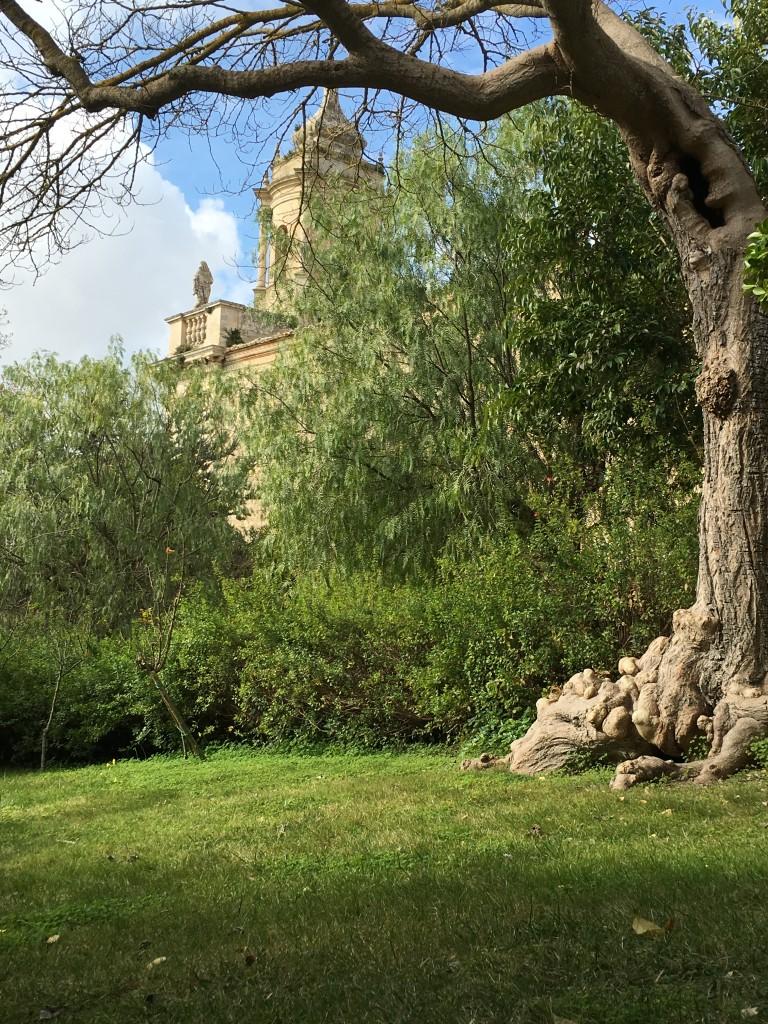 Ragusa Ibla - The Gardens