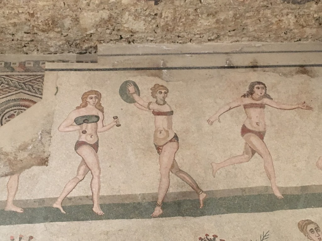 "The ""bikini girls"". As they have become known"