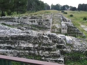The Altar of Heiron - dedicated to Zeus Eleutherios , built by Heiron II