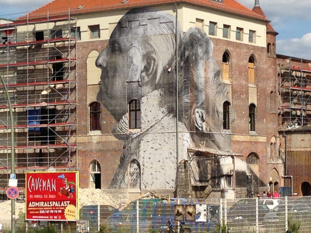 The biggest paste up I have ever seen - Berlin