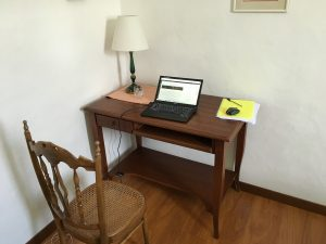 My desk - Siracuse, Sicily