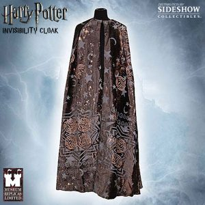 Harry Potter's Cloak of Invisibility - mine is jeans and a t-shirt
